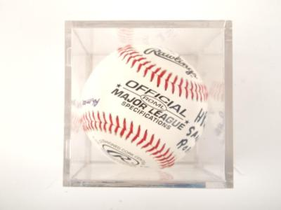 Autographed Baseball, Former Negro League Players, Ref: Negro Baseball Leagues Archival Collection #113