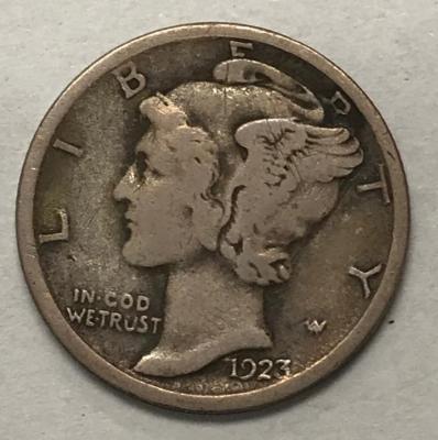 Coin, U.S., Mercury Head Dime