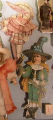 Dolls, Paper, Raphael Tuck Artist Series I, Boy Doll