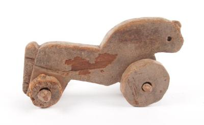 Roman-Egyptian Wooden Toy Horse