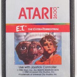 Video Game, Atari 2600, E.T.