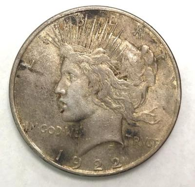 Coin, U.S., Peace, Silver Dollar