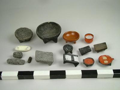 Miniatures, Food Processing Tools