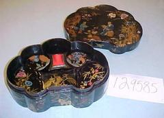Boxes, Nesting Lacquer, Japanese