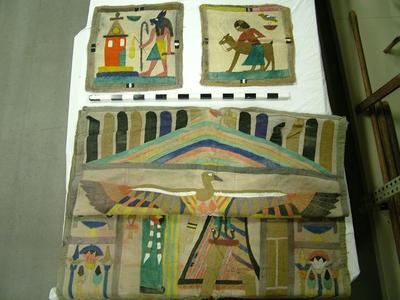 Appliqued Wall Hangings, Egyptian