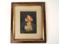 Print, Chromolithograph, White Cross Trimmed With Leaves, In Remembrance Of Me
