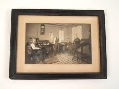 Photograph, Interior of four Men In an Office