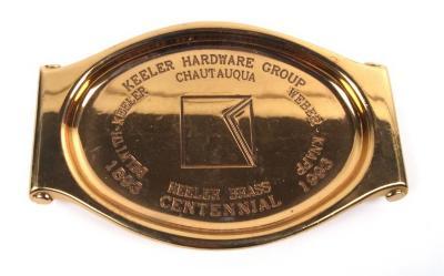 Ashtray, Keeler Brass Centennial