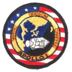 Patch, Apollo I, Chaffee, Grissom, White, Space Program