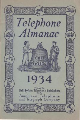 Almanac, 'telephone Almanac Bell System'