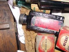 Bottle, Zoes Suede Dye, Black