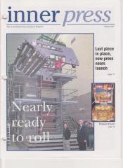"""Newsletters, Grand Rapids Press """"Inner Press"""""""
