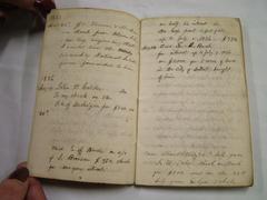 Account Book, Lucius Lyon
