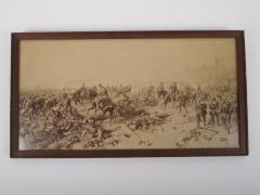 Print, Soldiers, War Scene