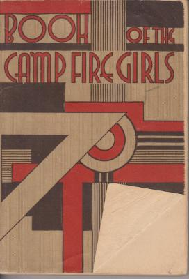 Book. Book Of The Camp Fire Girls.