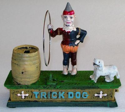 Trick Dog Mechanical Bank, Reproduction