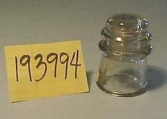 Insulator, Clear Glass