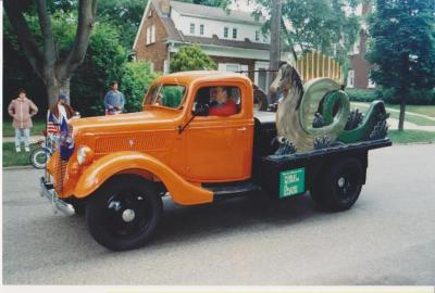 Automobile, Ford Truck