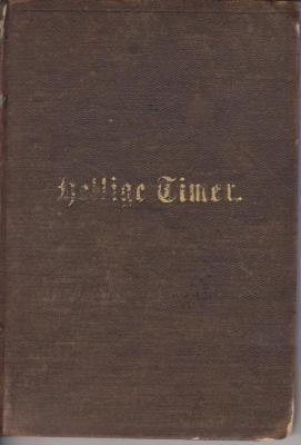 """Book, German Confirmation Den Unge Piges. Hellige Timer'"""""""