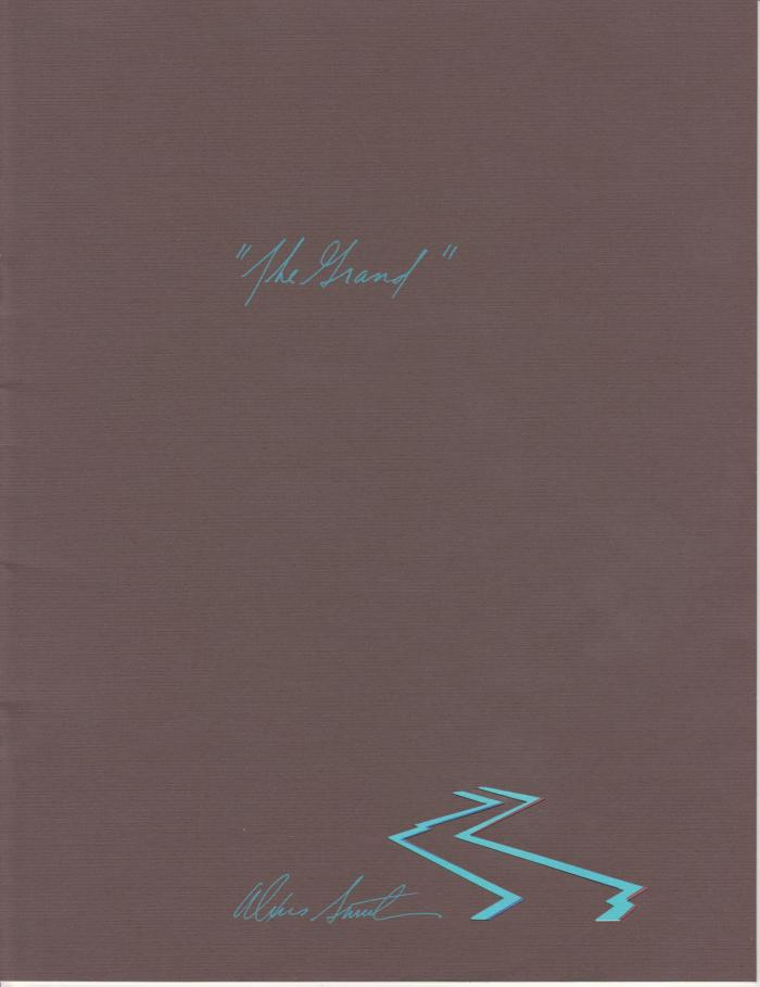 Booklet, 'in Celebration Of 'the Grand''
