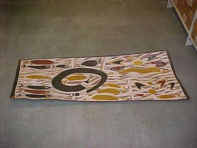 Painting, Kunduru, The Rainbow Serpent
