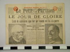"Newspaper, Le Petite Parisien"""