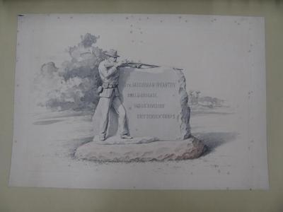 Poster, 13th Michigan Infantry