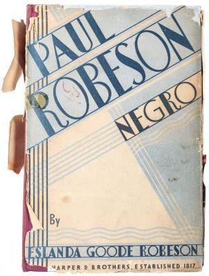 Book, Paul Robeson: Negro