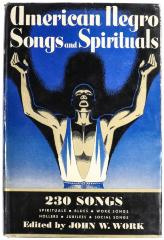 Book, American Negro Songs and Spirituals