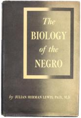 Book, The Biology of the Negro