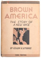 Book, Brown America: The Story of a New Race
