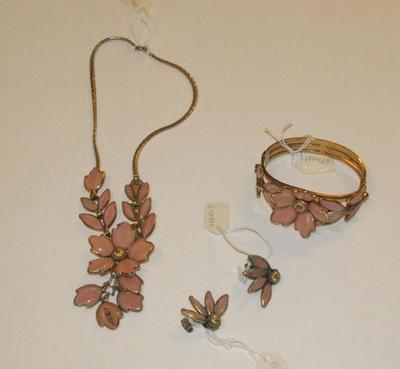 Necklace, Bracelet, Earrings