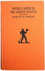 Book, Negro Labor in the United States