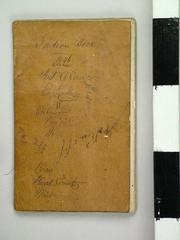 Account Book, Antoine Campau Indian Trading Post Account Book, 1846