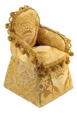 Miniature, Sewing Kit Chair