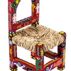 Miniature, Untitled Huichol Chair