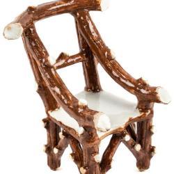 Miniature, Imitation Twig Chair