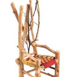 Miniature, Rustic Chair