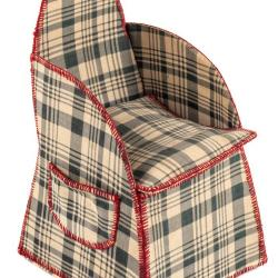 Miniature, Sewing Chair