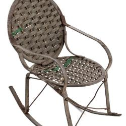 Miniature, Woven Rocking Chair