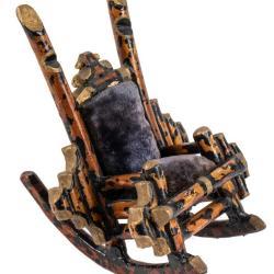 Miniature, Victorian Rocking Chair