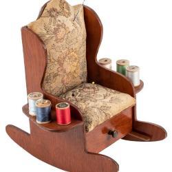 Miniature, Sewing Rocker Chair