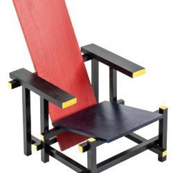 Miniature,  Roodblauwe Stoel Chair