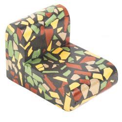 Miniature, Public Lounge Chair