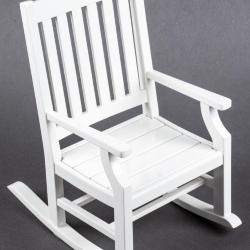 Miniature, Salesman's Sample: Dark Harbor Rocking Chair