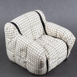 Miniature, Strips Lounge Chair