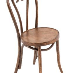 Miniature, Thonet-Style Side Chair