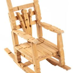 Miniature, Clothespin Chair