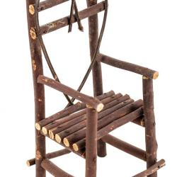 Miniature, Twig Heart Chair