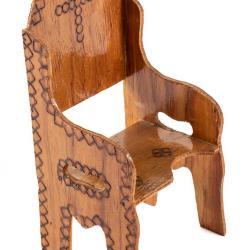 Miniature, Semana Santa Ceremonial Chair